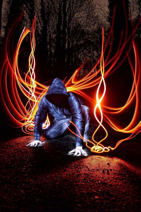 cool light painting photography images hative