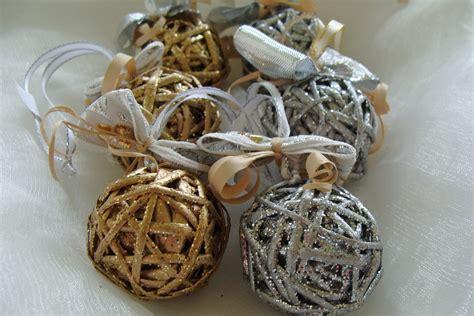 wicker christmas decor wicker ornaments miniture decorations set of 5 tree decoration wicker baubles