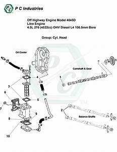 Off Highway Engine Model 4045d Litre Engine 4 5l 276