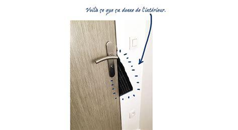 comment ouvrir une porte claqu 233 e maison travaux