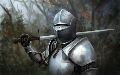 Medieval Knight Knights Wallpapers Resolution Drawing Sword