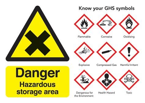 Danger Hazardous Storage Area Guidance Safety Signs  Seton Uk. Hilux Revo Decals. Honesty Lettering. Clot Signs. Champagne Stickers. Inspired Logo. Neurological Symptoms Signs Of Stroke. Multiracial Banners. Boyle Heights Murals