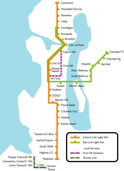 light rail map seattle relocating boston or seattle cost compare