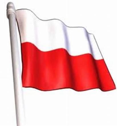 Flag Polish Clip Clipart Clker Vector