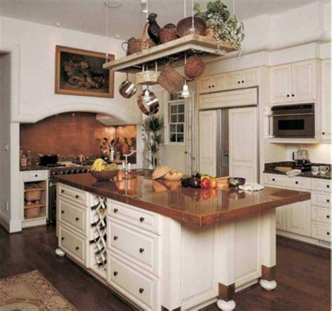 copper countertops   traditional  white kitchen