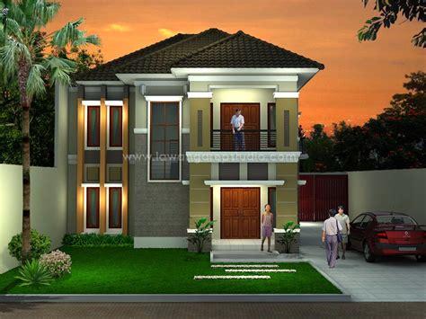 desain rumah minimalis  lantai murah foto desain rumah