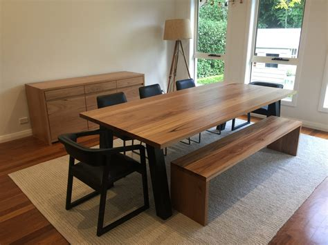 live edge dining room table recycled timber dining table lumber furniture