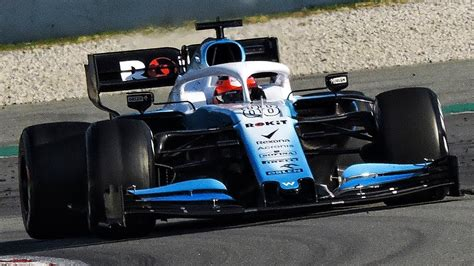 williams racing fw  track   pre season testing