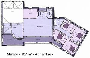 plan maison plain pied avec double garage menuiserie With plan de maison plain pied 4 chambres avec garage double