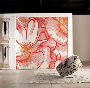 Aux Portes De La Deco : id e d co tapisser ses portes de placards blog izoa ~ Nature-et-papiers.com Idées de Décoration