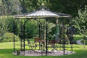 Gartenpavillon Aus Metall : ein pavillon das kleine feine extra f r ihren garten ~ Michelbontemps.com Haus und Dekorationen