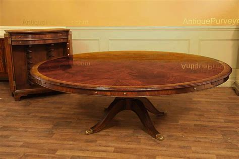 round dining table for 12 extra large round mahogany perimeter table and buffet