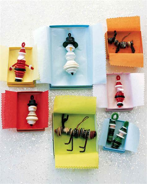diy christmas ornament projects martha stewart