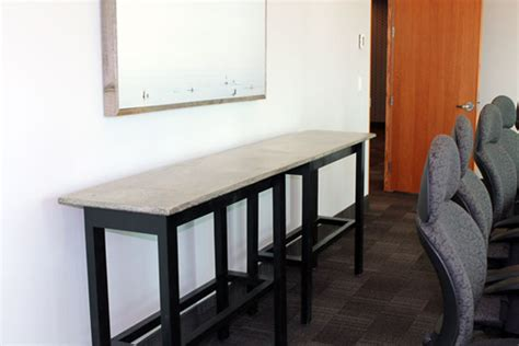room and board nelson l concrete board room tables tuscany concrete by design