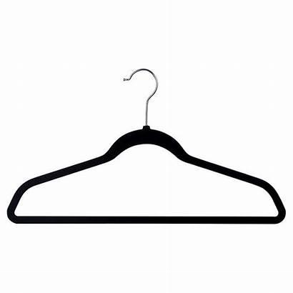 Hanger Clipart Thin Hangers Flocked Active Wear