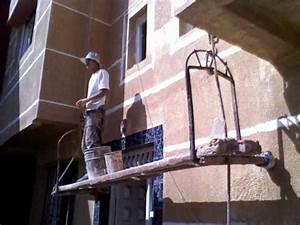 Peinture Facade Extérieure : 2 grafiato e textura grifi peinture d2coration facade ~ Melissatoandfro.com Idées de Décoration