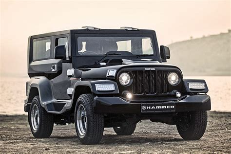mahindra thar price mahindra thar customised by dc is called hammer priced rs