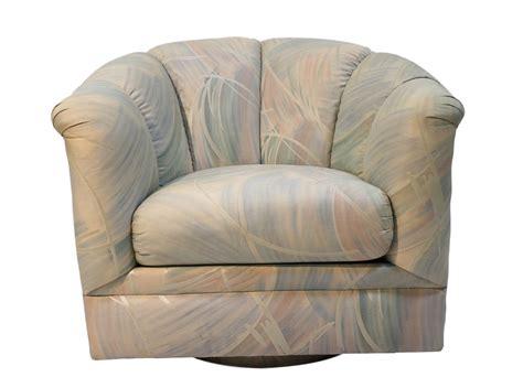 Mid Century Modern Precedent Swivel Club Lounge Tub Chair