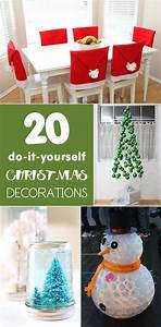20 Simple And Affordable Diy Christmas Decorations