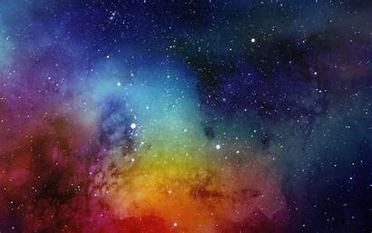 Watercolor Painting Spacescape Wallpapers