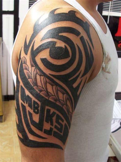 interesting family tribal tattoos