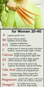 Essential Vitamins For Women 20   Weightlosswowfactor