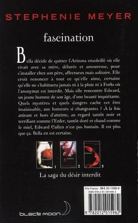 Twilight Resume 1 by Livre Twilight T 1 Fascination Stephenie Meyer
