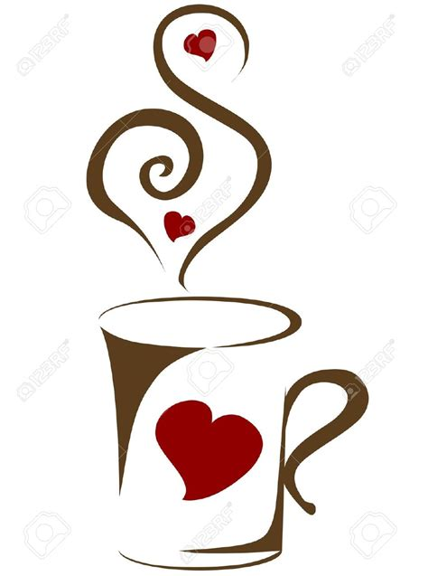 Coffee Cup Clipart 55 Coffee Mugs With Hearts Coffee Mug With Stock