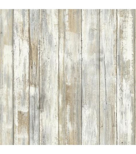 york wallcoverings peel stick wall decor wood plank