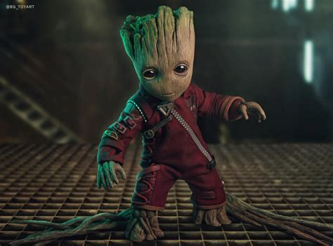 Baby Groot 5k Retina Ultra Hd Wallpaper  Background Image