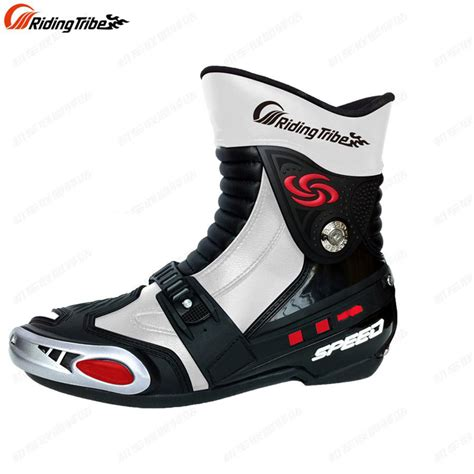 moto racing boots aliexpress com buy riding tribe new men motorcycle boots