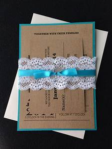 sydney 100 rustic lace wedding invitations turquoise With rustic wedding invitations sydney