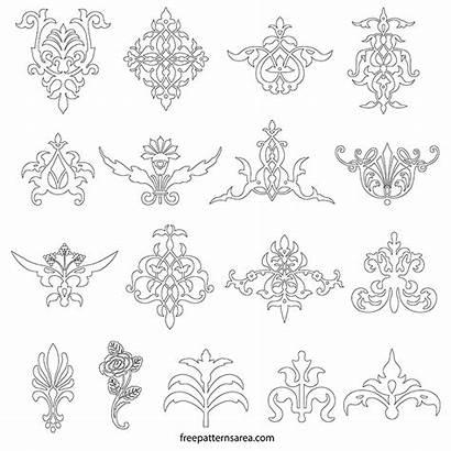Ornament Vector Floral Decorative Elements Designs Printable
