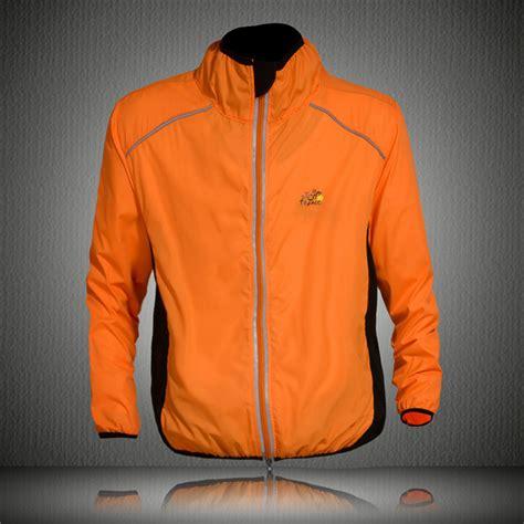 road cycling rain jacket orange rain jacket promotion shop for promotional orange