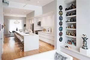 Modern, Row, House, Design, With, Amazing, Skylight, In, Richmond, Virginia