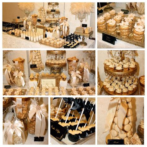 Old Hollywood Glam Dessert Buffet Buffets By Sweet