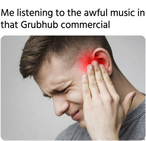 grubhub commercial memes memezilacom