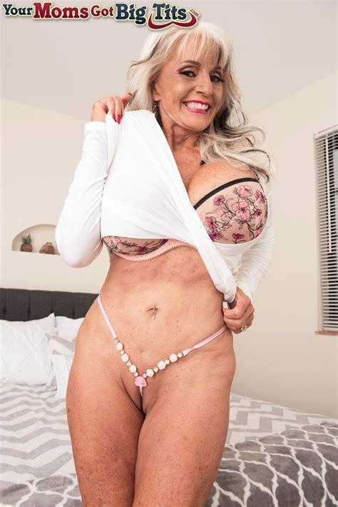 Petite Granny Sally Dangelo Enjoys Showing Off Her Big