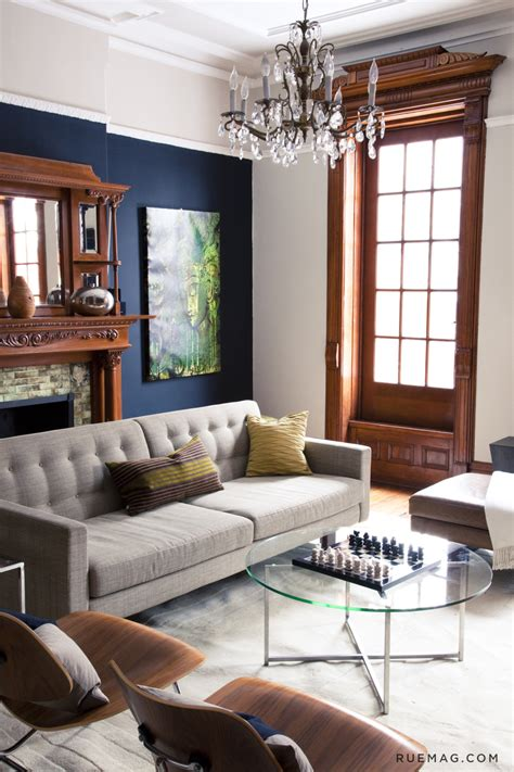 living happily with wood trim paint colours that play