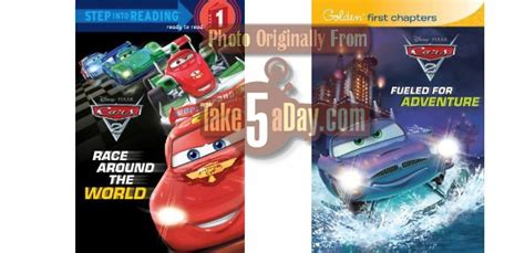 books about cars and how they work 2011 ford f series super duty regenerative braking disney pixar cars 2 cars 2 books spoiler alert take five a day