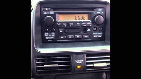 New 2004 Honda Accord Radio Code
