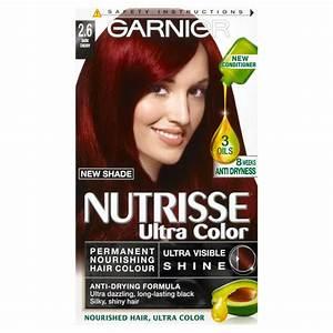 Garnier Nutrisse Ultra Color 26 Dark Cherry Red Permanent