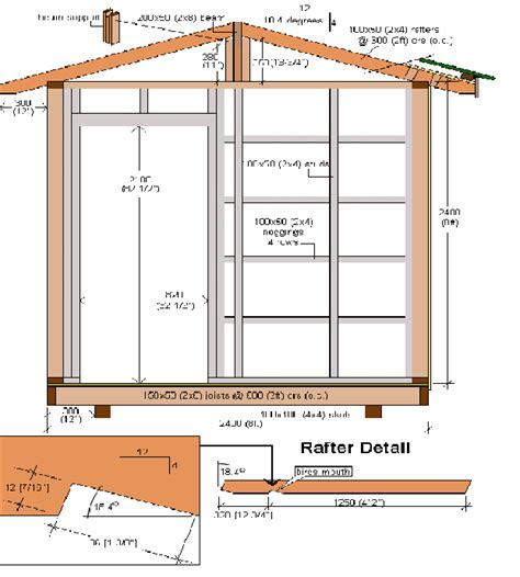Free Building Plans For 8x12 Storage Shed by Patric Guide Free 8x12 Shed Plans