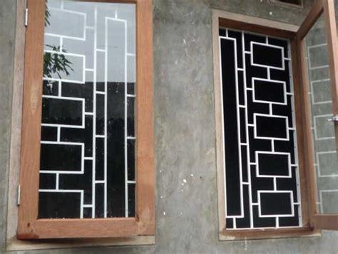 contoh teralis jendela