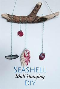 Seashell craft ideas wall hanging crafts on sea