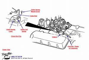 C3 Corvette Choke  U0026 Fuel Line Parts