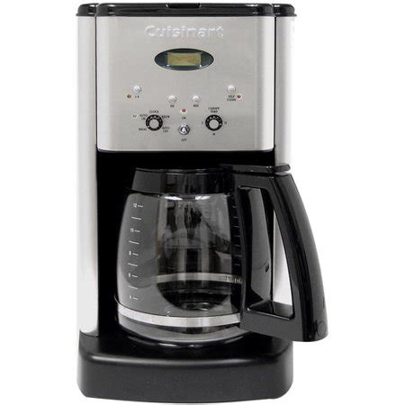 Cuisinart Programmable 12cup Coffee Maker, Black And