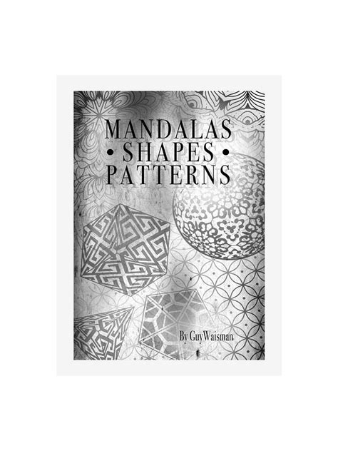 Mandalas Shape Patterns by Guy Waisman | Tattoo Life eBooks