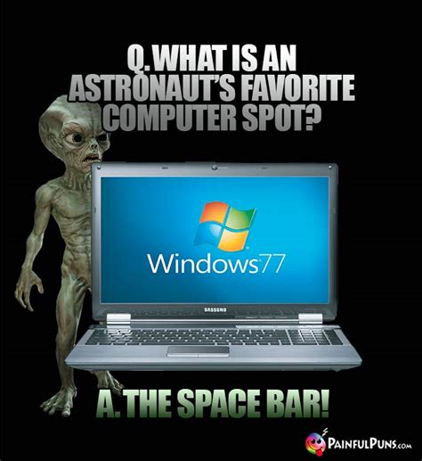 Space Bar Jokes: Space Jokes, Galactic Humor, Outer Space Puns 2