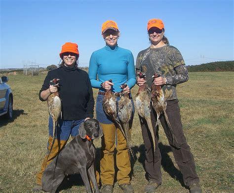 michigan dnr offers fall pheasant hunt  women